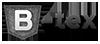 Сірий логотип B-tex